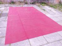 Caravan Awning Breathable Carpet Flooring 3m x 5m Maroon