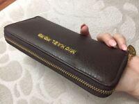 brown michael kors purse designer