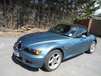 1997 BMW Z3. Blue. Electric roof/seats. my wife's last 9 yrs. Service history. Alloys cd player.