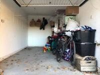 Half of Single Garage - Storage Space