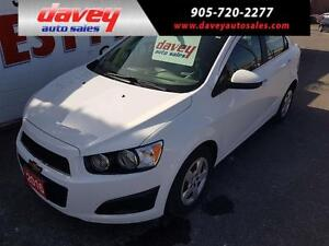2016 Chevrolet Sonic LT Auto HEATED SEATS, REMOTE START, BACK...