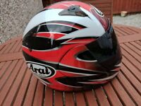 Arai size small nearly new condition with dark visor