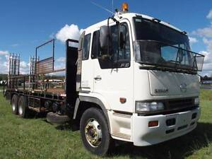 2000 Hino FS Ranger 50 6x4 Beavertail/Traytop Truck Inverell Inverell Area Preview