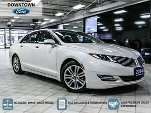 2014 Lincoln MKZ Hybrid, Moonroof, Navigation, Premium leather p