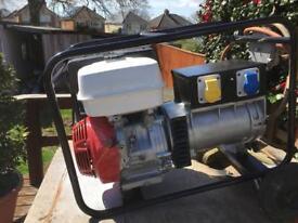 Honda 6 Kva generator gas converted