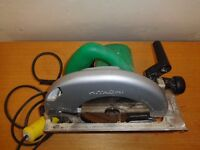 Hitachi circular saw, ryobi drill, makita grinder all 110v
