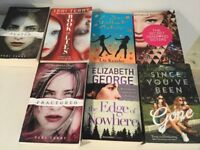Books - selection of 7 teenage fiction books