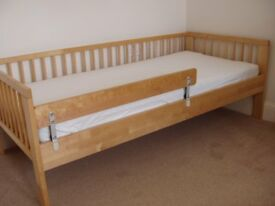 IKEA CHILD'S BED UP TO 8YRS