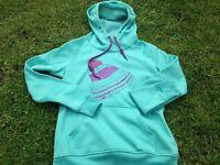 Burton turquoise ladies snowboard hoody