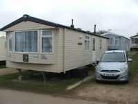 STATIC CARAVAN/HOLIDAY HOME. SWIFT BURGUNDY. SLEEPS UP TO 6. FULLY DOUBLE GLAZED LOVELY CONDITION.