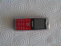 Sonica M1 Mobile Phone - Dual SIM 2G Camera Bluetooth Mini KenXinDa (Red)