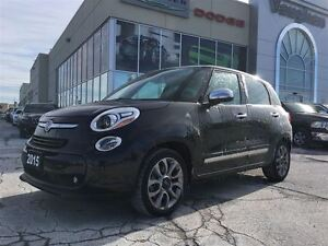 2015 Fiat 500L Lounge * Panoramic Sunroof * Leather * Navigation
