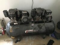 Sip airmate twin motor compressor . Nearly 2000 bran new. Big cfm output. Hardly used
