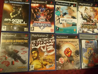 PS2 videogames (9 titles)