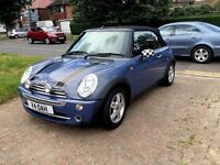Convertible MINI ONE 1.6,Manual,Petrol, 2004,Rear Parking Sensors,Low Mileage, 3Mths Wrnty,HPI Clear