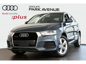 2016 Audi Q3 2.0 TFSI PROGRESSIV + CONVENIENCE PACKAGE