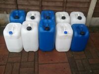 25L Water Containers x 10