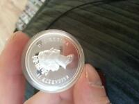 nhl collector coin . sterling silver