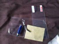 Samsung Galaxy S7 Edge Screen Protector + cloth + Pen