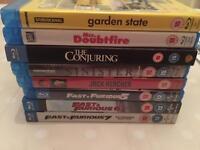Blu Rays (£3 each)
