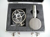 UNUSED RIBBON MICROPHONE--MANCHESTER