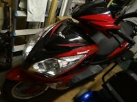 125cc scooter 18 months old vgc Lexmoto FMS RED 1000 miles only