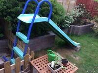 Children's slide (water option)