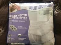 Slumberland luxury heated mattress topper