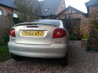 Renault Megane Coupe 2002 spares or repairs