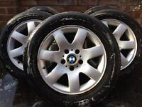 Bmw wheels from my 320d