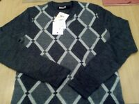 DKNY Men's Jumpers, Knits & Cardigans (size small) NEW WITH TAGS RRP £207