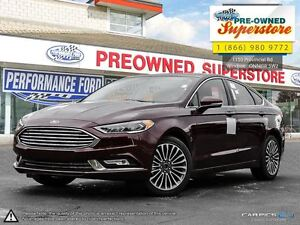 2017 Ford Fusion SE***AWD/NAV/Leather Windsor Region Ontario image 1