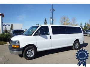 2015 Chevrolet Express 15 Passenger LT, 2-3-3-3-4 Seating Config