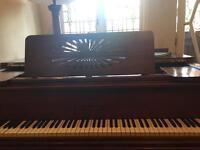 R Goetze Baby Grande Piano