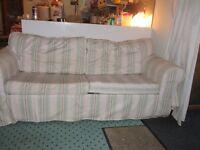 IKEA EKTORP TWO SEATER SOFA BED