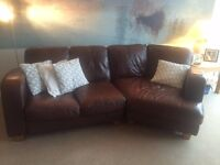 Corner Chaise Sofa AND 2 Seater Sofa. Both for £200 ono