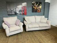 NEXT FABRIC SOFA SET IN EXCELLENT CONDITION 2+1 seater