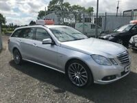 Late 2011 Mercedes E220 E Class Estate Manual **Full History** *FINANCE AND WARRANTY* (520d,passat)