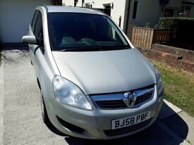 VAUXHALL ZAFIRA EXCLUSIVE 2.2 PETROL 7 SEATER.
