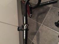 Cboardman road bike handle bars and DEDA stem. Contact 07392298943