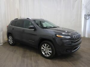 2014 Jeep Cherokee Limited No Accidents Bluetooth Leather