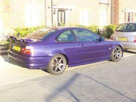 BMW 330ci Clubsport Velvet Blue 1 of 30 Long MOT