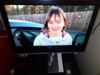 32 inch TOSHIBA FREE VIEW HDMI TV + REMOTE QUALITY PICTURE & SOUND