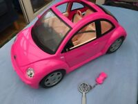 Barbie VW Beetle and Yacht to Plane Sets