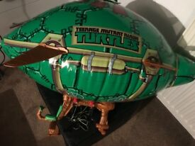 TMNT teenage mutant ninja turtles hot air balloon / blimp