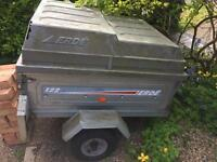 Erde trailer with box lid
