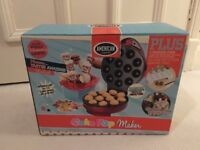 Cake pop maker and books (new in sealed box)