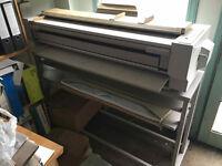 Large format Xerox 2511 plan copier