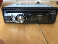 JVC KD-R35 car stereo headunit CD MP3 USB AUX