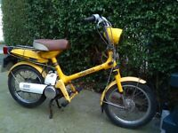HONDA NC 50 EXPRESS starting and going well C/W tax book etc ,1979 moped